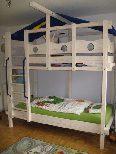 hochbett mit 3 seite 2. Black Bedroom Furniture Sets. Home Design Ideas